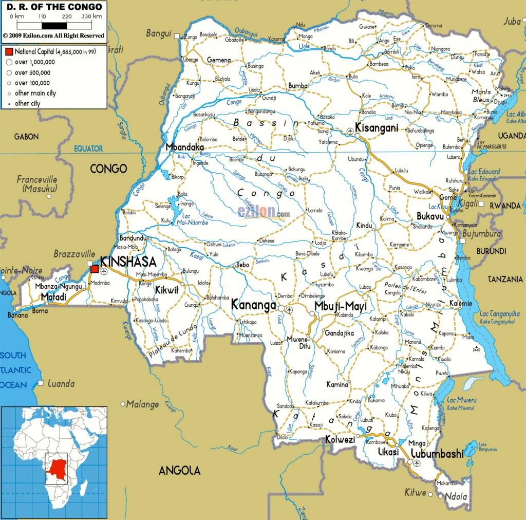 Congo-map
